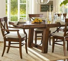Dining Room Tables Pottery Barn Furniture Round Kitchen Style Uk