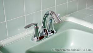 Moen Kitchen Faucet Remove Aerator by How To Install A Bathroom Faucet Simple Practical Beautiful