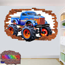 MONSTER TRUCK 3D ART WALL STICKER ROOM OFFICE NURSERY DECOR DECAL ... 3d Model Wonder Woman Monster Jam Truck On Wacom Gallery 3 D Uniform Background Stock Illustration Safari 3d Cgtrader Offroad Rally 116 Apk Download Android Racing Games Amazoncom 4x4 Stunts Appstore For 39 Obj Fbx 3ds Max Free3d Image Stock Photo Istock Monster Truck Model Caravan By Litha Bacchi Litha_bacchi Monstertruck Grave