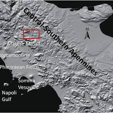 Map Of The Study Area In Southern Italy General Overview