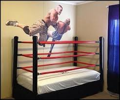 bed wrestling ideas of wwe ring bed interior exterior homie state