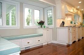 Kitchen Corner Bench Seating With Storage En Dining Room