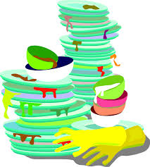 1346x1500 Dirty Dishes Clipart