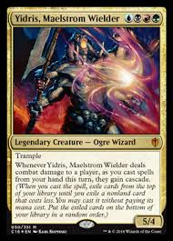 Mtg Storm Deck Legacy by Yidris Maelstrom Wielder Storm When Resolving One Turn Takes