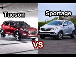 Amazing 2018 Hyundai Tucson VS 2017 Kia Sportage DESIGN