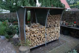 Firewood Storage Racks Woodstocker rack by Harrie Leenders