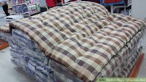 How to Buy a Temporary Bed 5 Steps with wikiHow