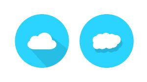100 Flat Cloud Icon Inkscape Tutorial