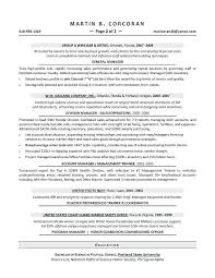 Sample Resume For Territory Manager Also Retail Sales To