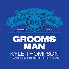 New Bud Light Groomsman Beer Label iCustomLabel
