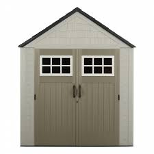 rubbermaid 1887155 outdoor resin storage shed 7 x 7 shop your