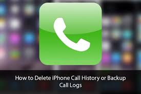 How to Delete iPhone Call History