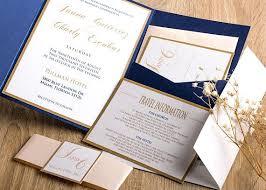 Wedding Pocket Invitations 5184 Also