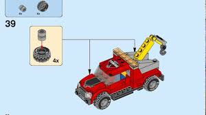 2017 Lego City Police Tow Truck Trouble Instructions 60137 - YouTube