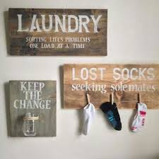 Cute Decorations For The Laundry Roomand Practical