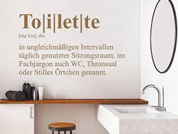 wandtattoo definition toilette für wc badezimmer