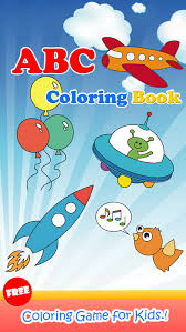 ABC Coloring Book Paint Draw Page Games For Kids Screenshot On IOS
