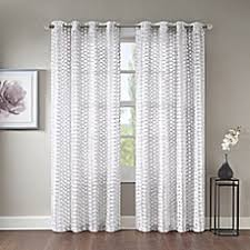 Bed Bath And Beyond Semi Sheer Curtains by Standard Curtain Panel Sizes Bed Bath U0026 Beyond