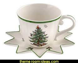 Spode Christmas Tree Mug Cafe Shape by Decorating Theme Bedrooms Maries Manor Christmas Kitchen