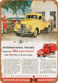 Amazon.com: Wall-Color 7 X 10 METAL SIGN - 1947 International Trucks ... Better Roads For A World Intertional Trucks Tractors Ad Chicago Huntley Il 847 6695700 1960s Advertisement Advertising Harvester Trucks Of Truck Hoods All Makes Models Medium Heavy Duty Cheap Truckss New Used Tow Vehicles Sale In Bridgeview Lynch Buffalo Road Imports Okosh 3000 Airport Fire Truck Fire In For On Craigslist 10 Cars Al Capone May Have Driven 1966 Ad Pickup Illinois
