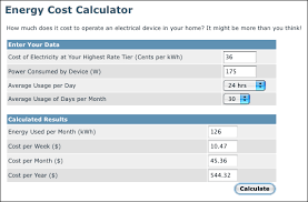 calculating energy usage how costs drive conservation tutorial