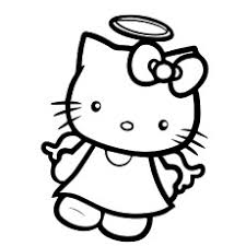 Hello Kitty Picture As Angel