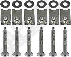 100 Truck Bed Bolts Amazoncom APDTY 035421 Mounting Bolt Nut Kit Fits 1983
