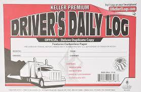100 Logbook For Truck Drivers Amazoncom JJ Keller 8526 Daily Log Book Automotive