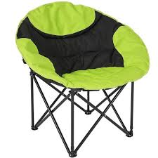 Microsuede Folding Saucer Chair by Top 10 Best Moon Chairs In 2017