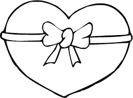 Cool Design Coloring Page Of A Heart Valentine Pages