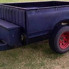 Best Truck Bed Trailer W toolbox And Ramps for sale in Tulsa