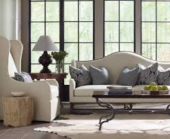 Bernhardt Cantor Sectional Sofa by Bernhardt Living Room Yardley Sofa With Blue And Off White