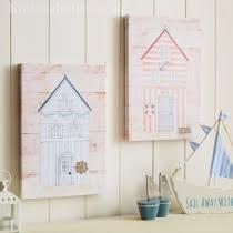 Beach Hut Themed Bathroom Accessories by Nautical Accessories Live Laugh Love