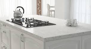 vittoria white quartz modern kitchen by arizona tile