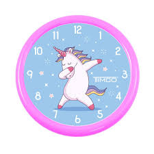 Reloj De Pared T22 Unicornio