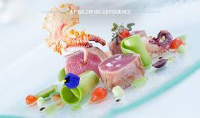 cuisine in llangoed dining