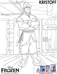 Kristoff Coloring Sheet From Disneys Frozen