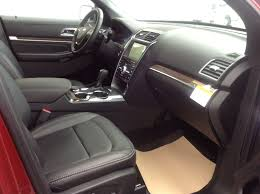 new 2017 ford explorer limted moonroof navigation 2nd row captain