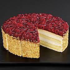 unsere prachtstücke classics himbeer käse sahne torte