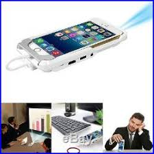 Mini DLP Mobile Cinema Home Theater LED Projector HDMI For iPhone