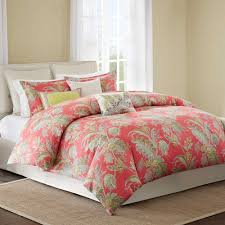 Coral Colored Bedding by Bedroom King Size Bed Covers With Beautiful Coral Duvet Cover And