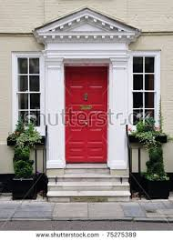 Images Front Views Of Houses by View Beautiful House Exterior Front Door 写真素材 584445823
