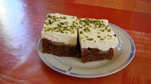 schoko birnenkuchen mit pistazien rezept