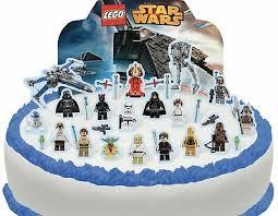 cakeshop essbare lego wars szene kuchen dekoration