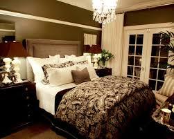 romantische schlafzimmer deko ideen lila schwarz muster