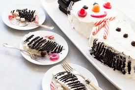 Snowman Chocolate Icebox Cake Recipe