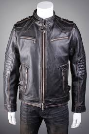 affliction black premium on any sunday mens black leather jacket
