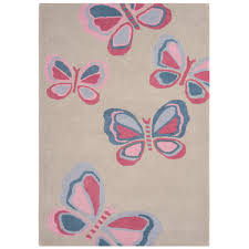 2018 Pink and Grey area Rug 50 s