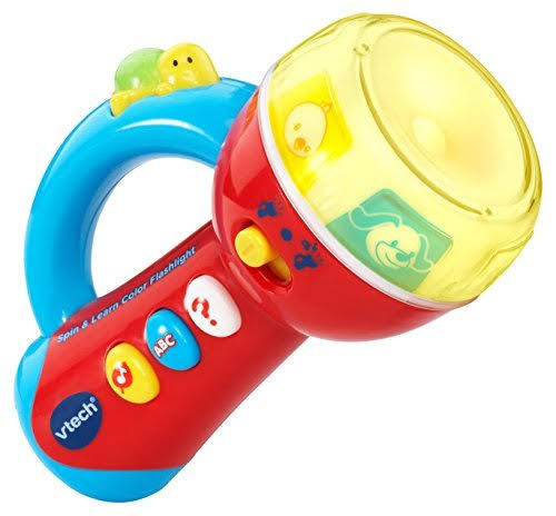 VTech Spin and Learn Color Flashlight Toy