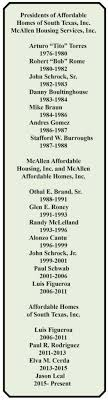 Affordable Homes of South Texas Celebrates 40th Anniversary